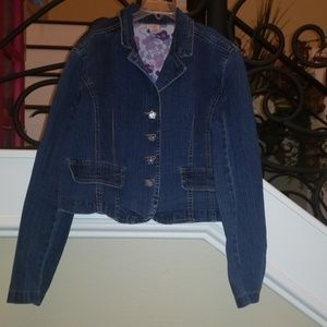 Girls Blue Jean Jacket